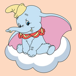 How to Draw Dumbo on the Cloud