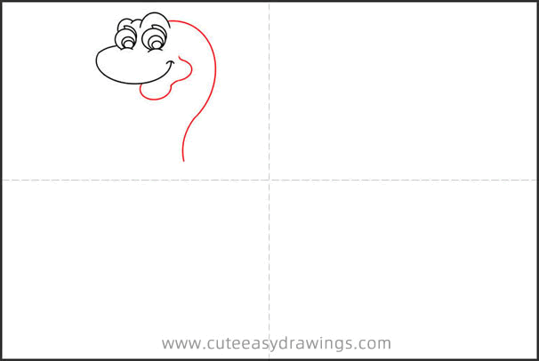 How to Draw a Baby Dinosaur Hatched from Egg