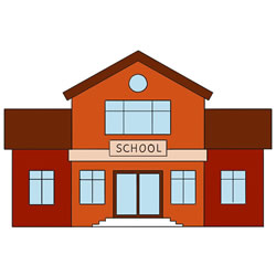 How to Draw a School House