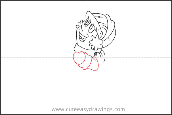 How to Draw Karen from Frosty the Snowman