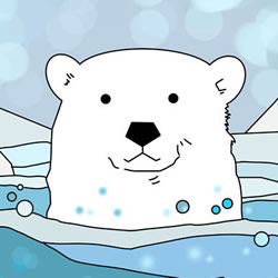 How to Draw a Polar Bear in the Water