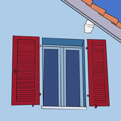How to Draw a Window on the Wall