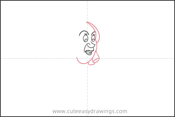 How to Draw Drizella Tremaine from Cinderella