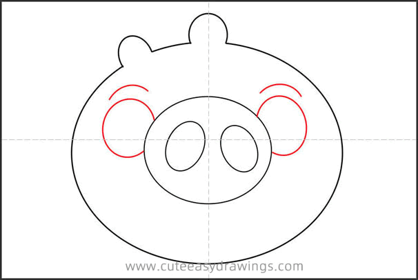How to Draw Ross the Pig