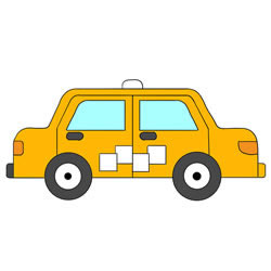How to Draw a Taxi Easy