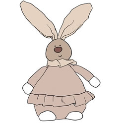 How to Draw a Bunny Doll