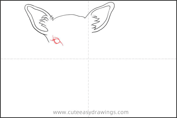 How to Draw a Realistic Deer Head